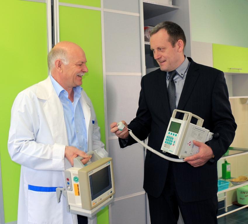 Немцы подарили Полоцку новое медоборудование