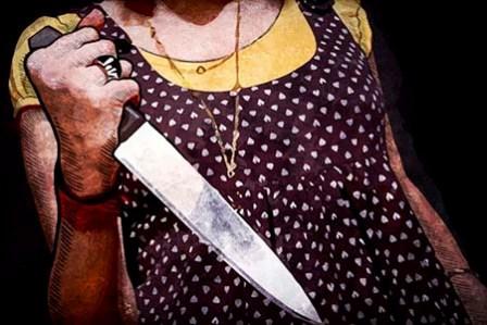 Ранее судимая женщина зарезала односельчанина в Полоцком районе