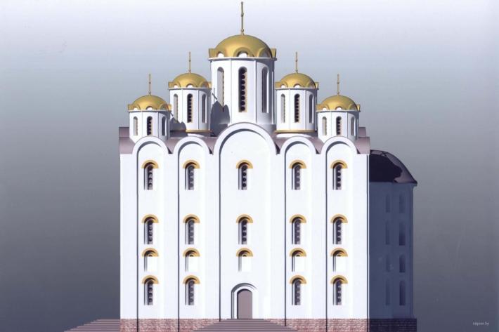 По образу Полоцкого Софийского собора построят Витебскую Софию