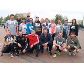 В Новополоцке прошла городская легкоатлетическая эстафета