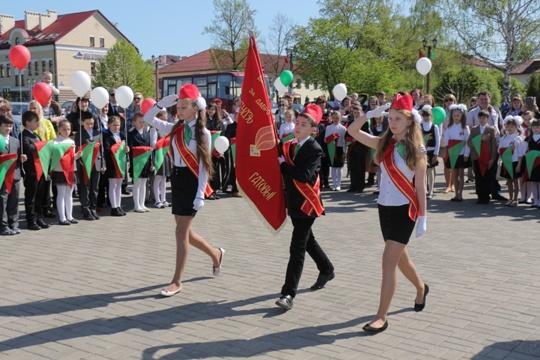 В Полоцке прошел торжественный митинг
