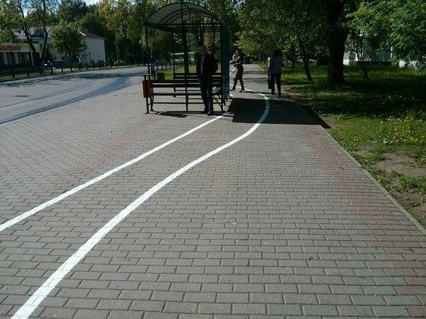 Новые дорожки для велосипедов появились в Новополоцке
