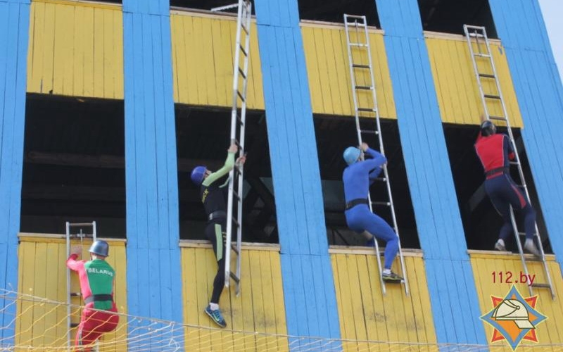Чемпионат пожарно-спасательного спорта принес «Нафтану» второе место