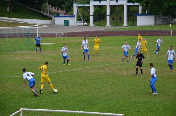 «Полоцкгаз» победил «Лепель» во втором туре областного чемпионата