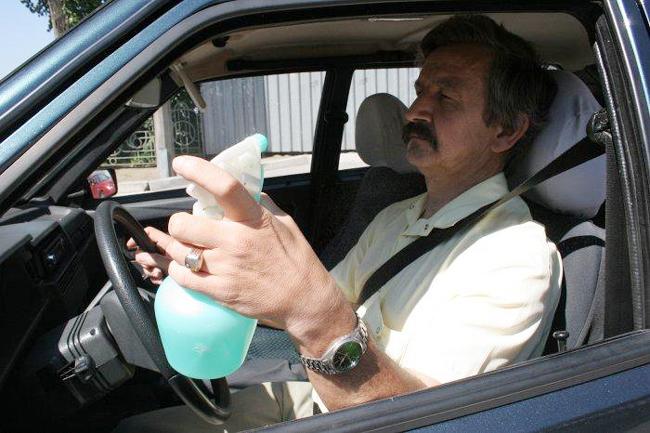Госавтоинспекция советует водителям не находиться за рулем в жару подолгу