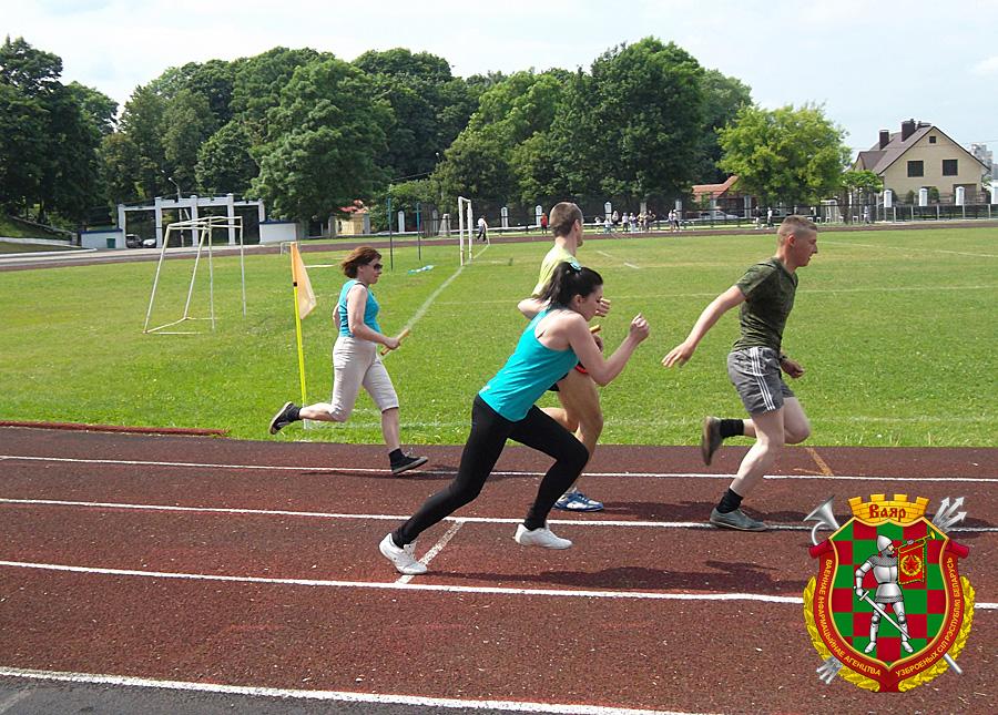 В Полоцке состоялась легкоатлетическая эстафета