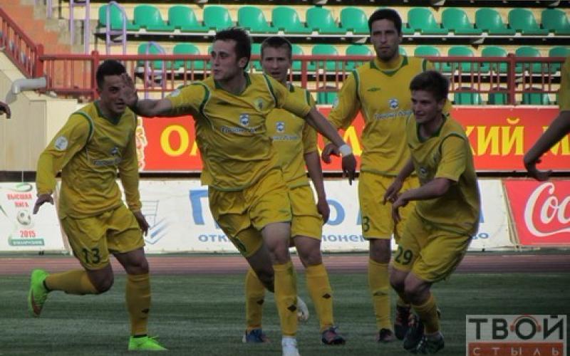 «Нафтан» проиграл со счетом 1:3 гродненской команде «Неман»