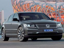 Volkswagen презентовал обновленный седан Phaeton