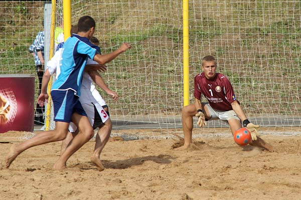 На Витебщине проведут международный турнир по пляжному футболу