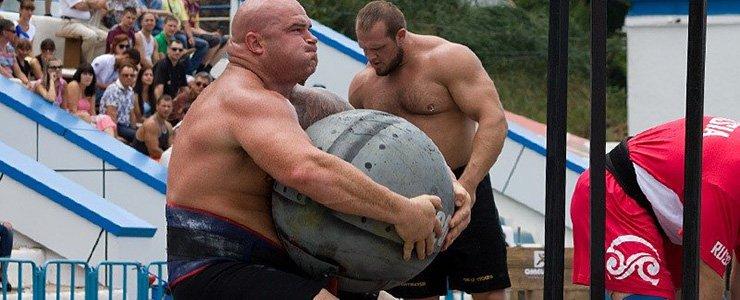 В Новополоцке прошли состязания по силовому экстриму