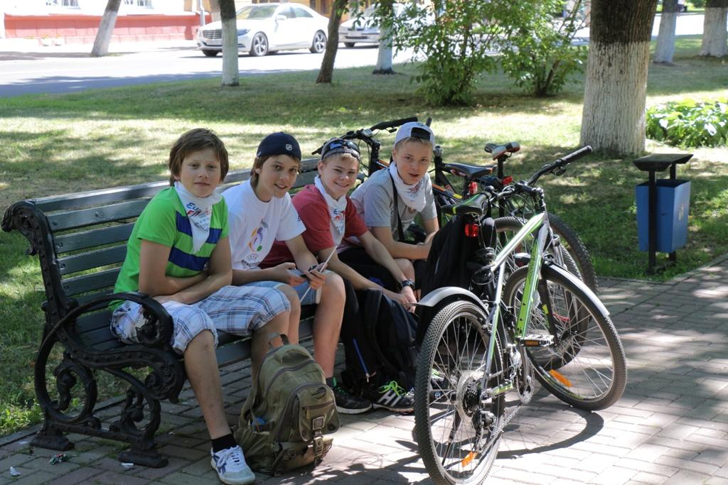 В Полоцке завершился велопробег организованный радиостанцией