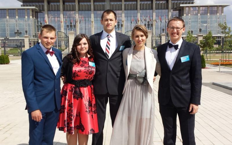 Лучшие Полоцкие студенты стали участниками Президентского бала