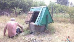 Под Жлобином мужчина полез за ведром в колодец и не смог выбраться