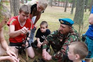 В детско-оздоровительном лагере определили победителей «Зарницы»