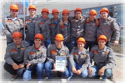 Стройотряд ПГУ «Эврика» принял участие в открытии третьего трудового семест ...