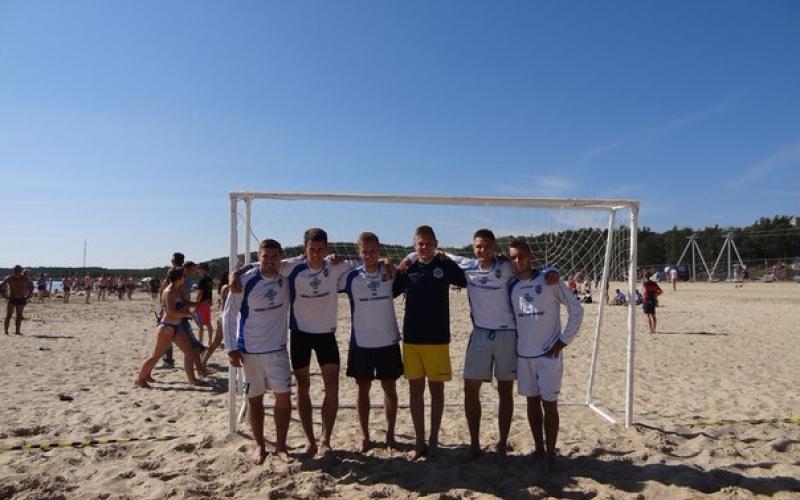 «Полоцгаз» - на третьем месте по пляжному футболу