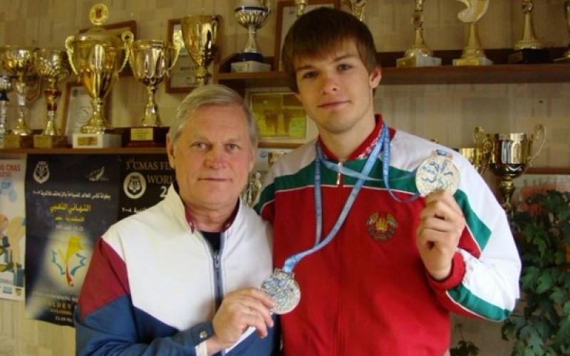 У новополочанина Дмитрия Гаврилова серебряная медаль