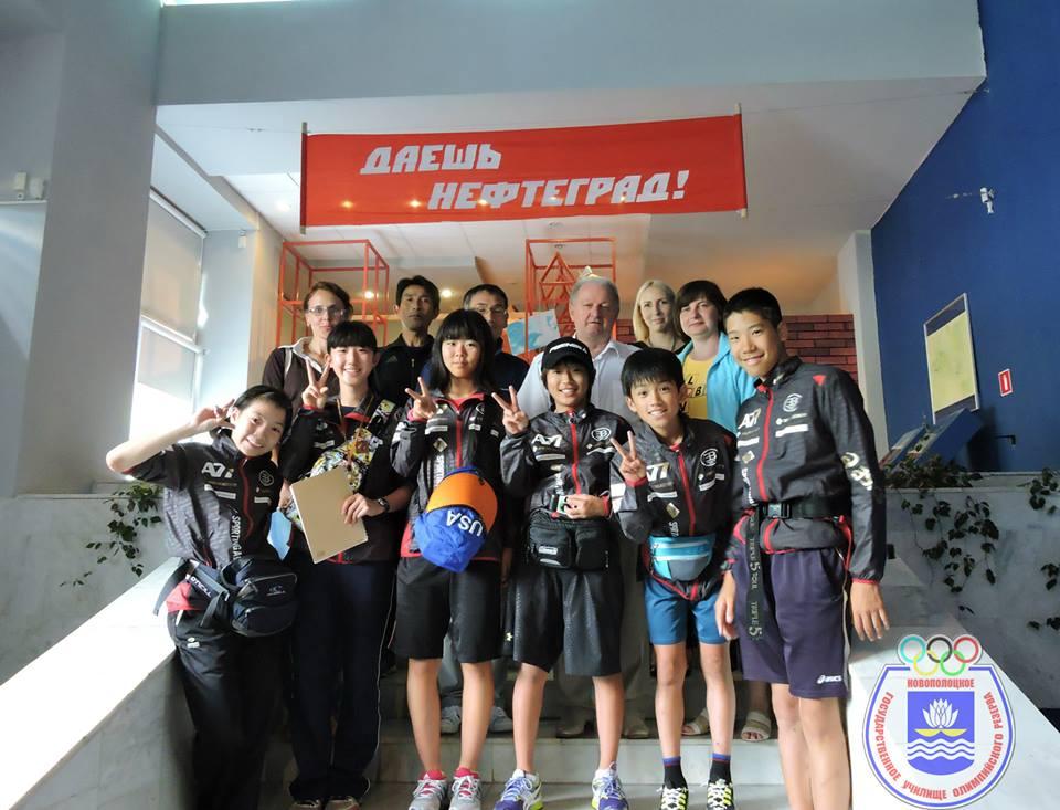 Японские биатлонисты проведут тренировки в Новополоцке