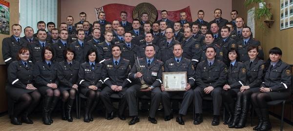 1 августа милиция Новополоцка отметила 50-летний Юбилей