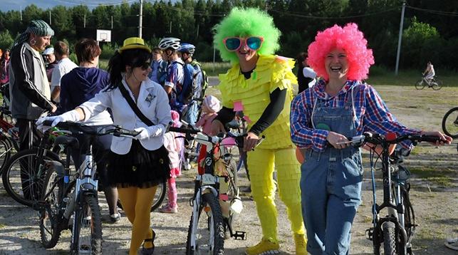 велосипедный карнавал