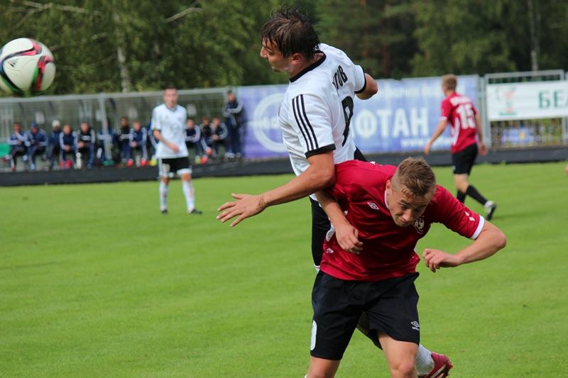 Товарищеская встреча с ФК «Витебск» принесла победу «Нафтану»