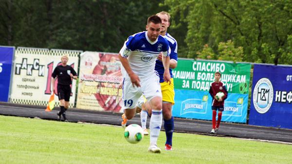 «Нафтан» проиграл «Слуцку» со счетом 0:1