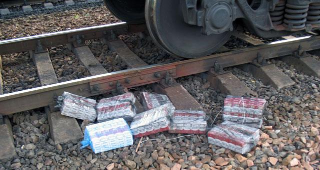 Полоцким пограничным отрядом выявлена незаконно перевозимая партия сигарет