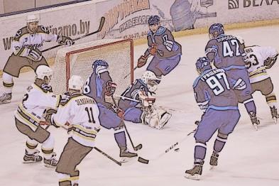 Хоккеисты Химика одержали победу над командой Динамо-Бобруйск