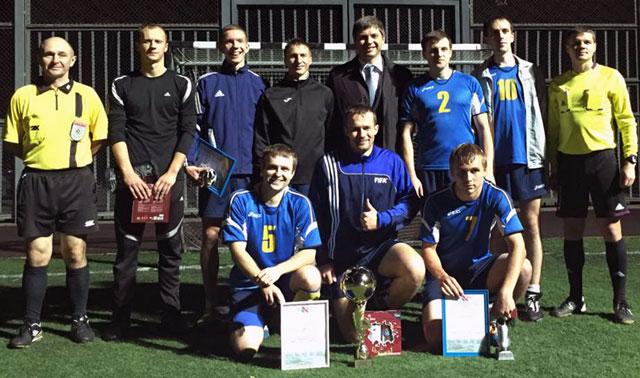 В Новополоцке состоялись соревнования VII открытого мини-футбольного турнир ...