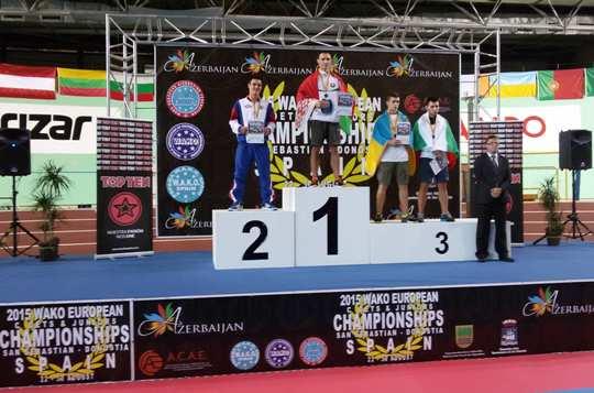 Полоцкие кикбоксеры привезли награды Чемпионата Европы 2015