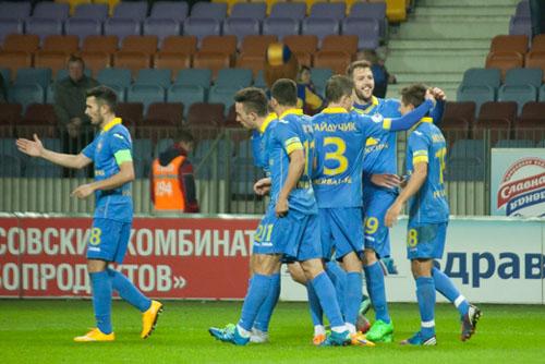 ФК«Нафтан» в гостях уступил борисовскому «БАТЭ» - 1:2
