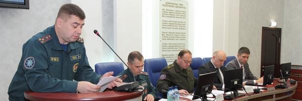 МЧС рассказал о пожарной обстановке в Новополоцке