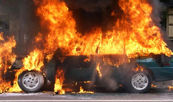 30 октября в Полоцком районе произошло два возгорания