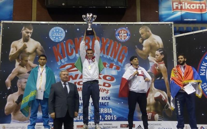 Чемпионом мира по кикбоксингу стал полочанин Евгений Телица