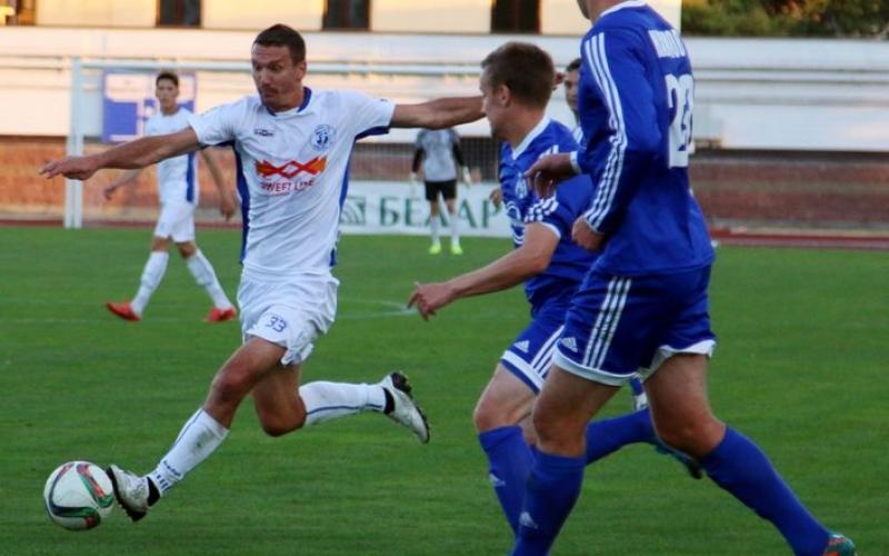 «Нафтан» одержал победу над «Динамо»-Брест со счетом 3:1