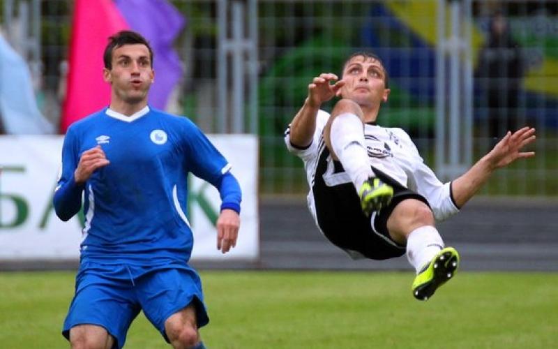 ФК «Нафтан» вышел в четвертьфинал Кубка страны