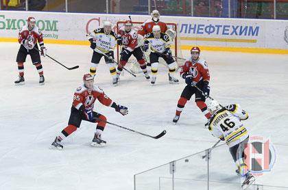 Новополоцкие хоккеисты одержали победу над гродненской командой
