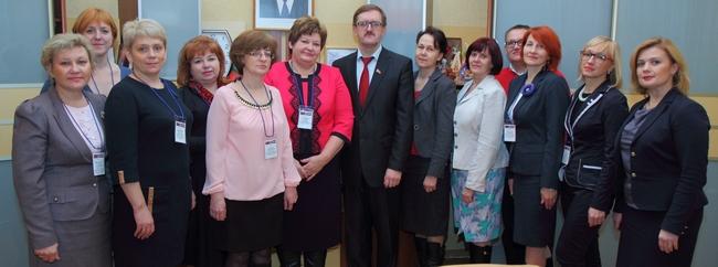 В Новополоцке побывала делегация Латвии
