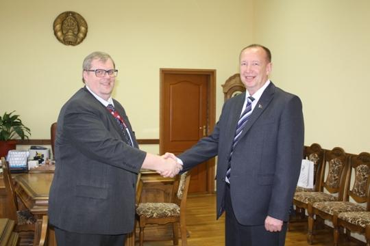 Полоцк посетил глава латвийского консульства