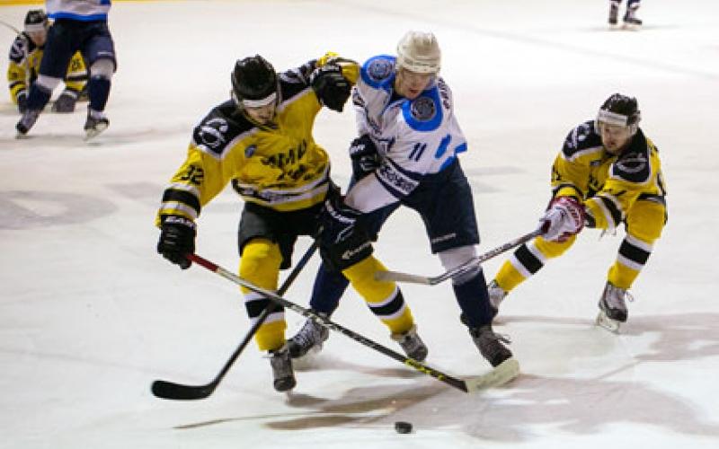 «Химик» одержал победу на хоккеистами «Динамо»
