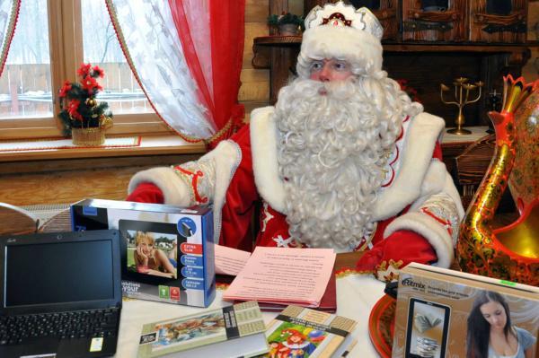 Дед Мороз приглашает полочан и гостей города в свою сказочную резиденцию