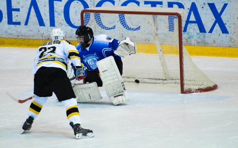 Витебский хоккейный поединок принес победу команде «Химик СКА»
