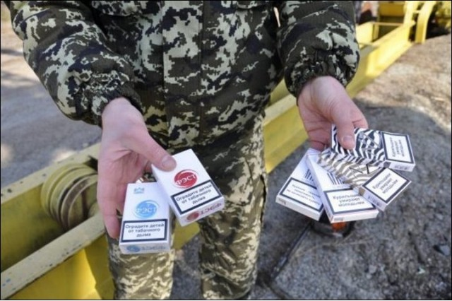 Крупная сигаретная партия задержана полоцкими пограничниками
