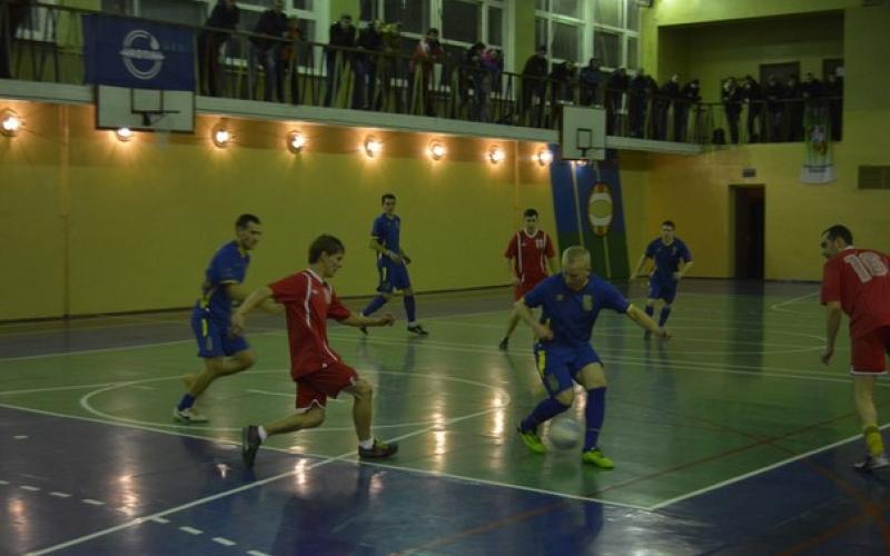 Команда «Изумруда» во главе турнирной таблицы чемпионата Новополоцка