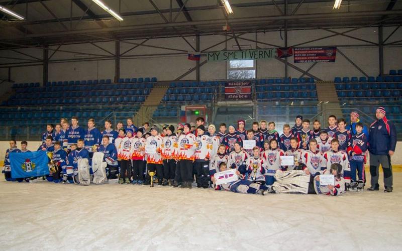 Новополоцкие хоккеисты заняли второе место проходившего в Словакии международного турнира