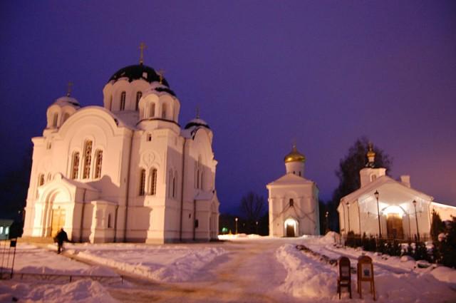 Полоцкий Спасо-Ефросинеевский монастырь посетил митрополит Минский и Заслав ...