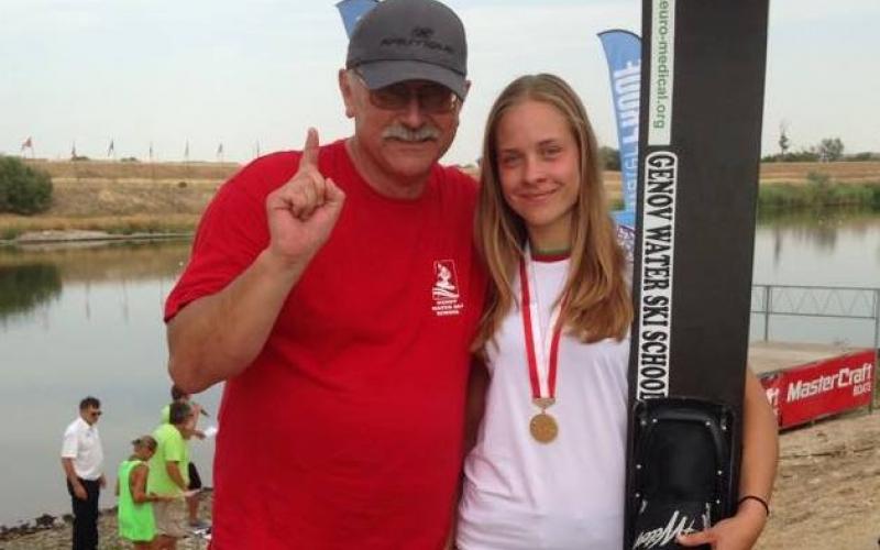 Новополочанке Анне Стрельцовой присвоен титул лучшей спортсменки 2015