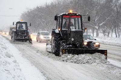 Городские службы Полоцка и Новополоцка просят водителей не создавать препят ...