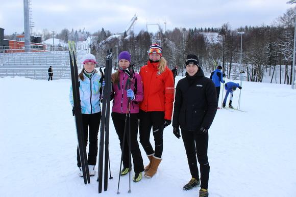У Новополоцких лыжников бронза Республиканского первенства