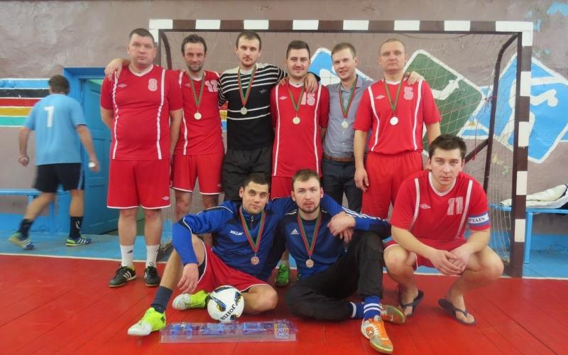 Команда «Полимира» стала участником мини-футбольного турнира в Миорах